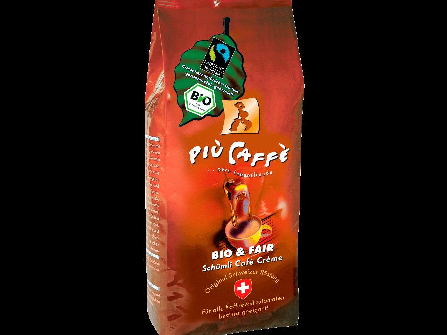 Bio & Fair 100% Arabica ganze Kaffeebohne